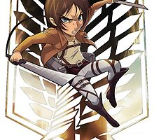 Attack On Titan - Eren Jaegar by iiKyro