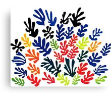 In the style of matisse flowers 1 Canvas Print