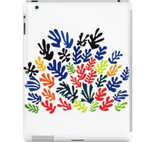 In the style of matisse flowers 1 iPad Case/Skin