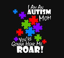 Autism Mom T-Shirt Puzzle Piece Awareness Gift Autistic Tee Unisex T-Shirt