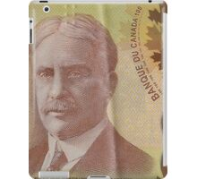 One Hundred Canadian Dollar Bill iPad Case/Skin