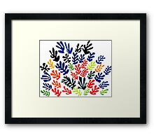 In the style of Matisse flowers 2 Framed Print