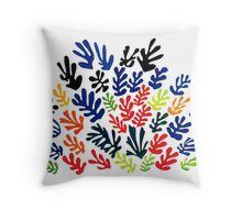 In the style of Matisse flowers 2 Throw Pillow