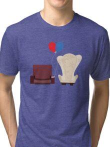u p Tri-blend T-Shirt