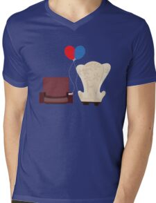 u p Mens V-Neck T-Shirt