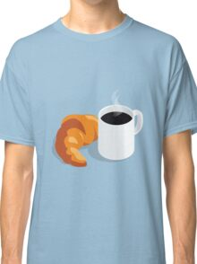 Croissant & Coffee Classic T-Shirt