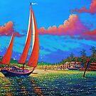 Moonlight Harbor ll by jyruff
