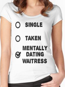 The Waitress Women's Fitted Scoop T-Shirt