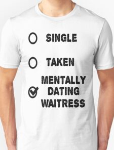 The Waitress Unisex T-Shirt