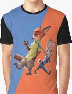 Nick and Judy (Zootopia) Graphic T-Shirt