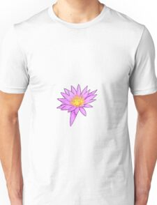 Pink Water Lily Unisex T-Shirt