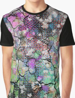 Earthy Cracked Colors Graphic T-Shirt