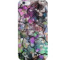 Earthy Cracked Colors iPhone Case/Skin
