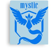 Mystic Team Canvas Print