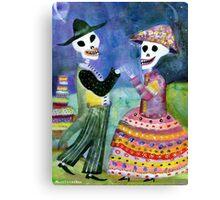 Katrin and Katrina - Day of the Dead Canvas Print