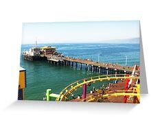 Santa Monica Pier Greeting Card
