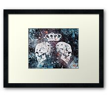 Black Queendom Framed Print