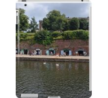 Small Craft Shops along Exeter Canal ...........l iPad Case/Skin