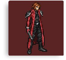 Genesis boss sprite - Final Fantasy 7 Crisis Core (FFRK) Canvas Print