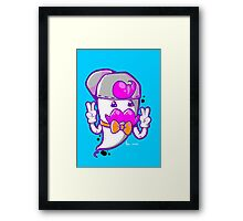 HIP THE GHOST Framed Print