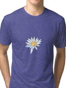 White Water Lily Tri-blend T-Shirt