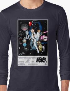 Rick and Morty Wars Long Sleeve T-Shirt