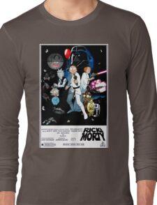 Rick and Morty Wars Long Sleeve T-Shirt