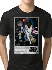 Rick and Morty Wars Tri-blend T-Shirt