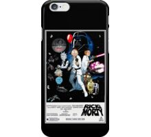 Rick and Morty Wars iPhone Case/Skin