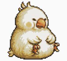 Fat Chocobo boss sprite - Final Fantasy 3 (FFRK) One Piece - Long Sleeve