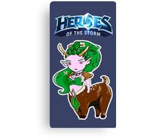 Tiny Heroes: Lunara from World of Warcraft Canvas Print