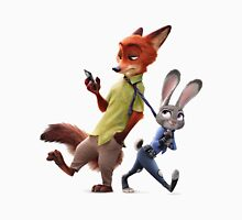 Nick and Judy (Zootopia) Unisex T-Shirt