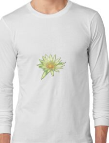 Pastel Water Lily Long Sleeve T-Shirt
