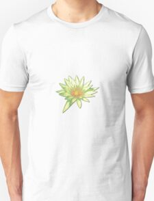 Pastel Water Lily Unisex T-Shirt