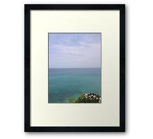 Paradise View Framed Print