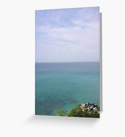 Paradise View Greeting Card