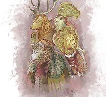 Beasts of Westeros by Drew Borja