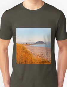 Mount Maunganui beach scene for covers, smartphone cases  Unisex T-Shirt
