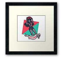 Be Clever Framed Print