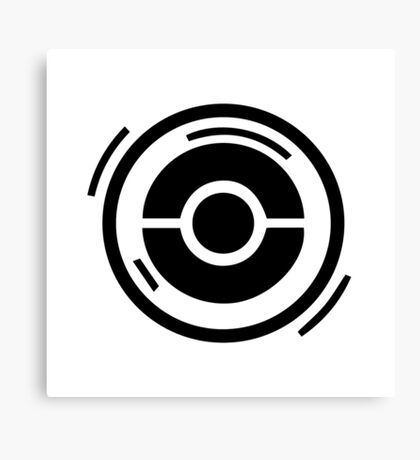 Pokestop Logo gear! Canvas Print