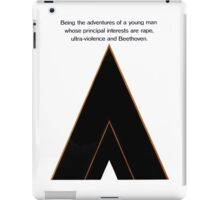 A Clockwork Orange, Stanley Kubrick iPad Case/Skin