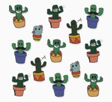 Cute Cacti Kids Tee