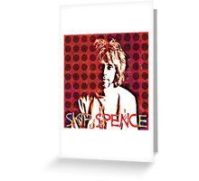 "Alexander ""Skip"" Spence Greeting Card"