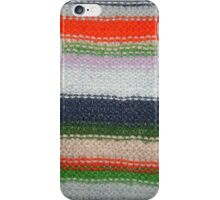 Striped Knit iPhone Case/Skin
