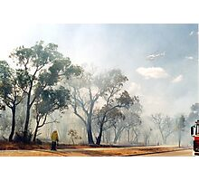 Fire, Perth, Western Australia Photographic Print