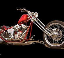 Harley Chopper 'Hawg Heaven' by DaveKoontz