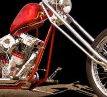 Harley Chopper 'Hawg Heaven' Sticker