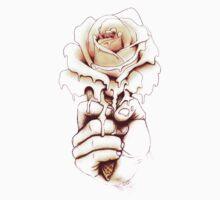 Rose a la Mode Baby Tee