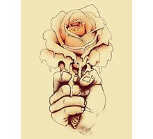 Rose a la Mode Photographic Print