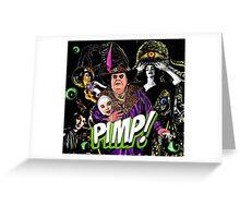 PIMP ALIENS Greeting Card